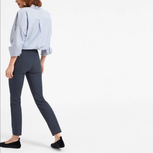 Everlane Ankle Work Pant in Navy